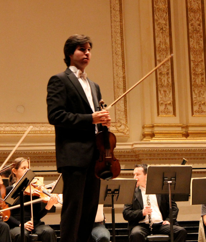 Paco Montalvo at Carnegie Hall