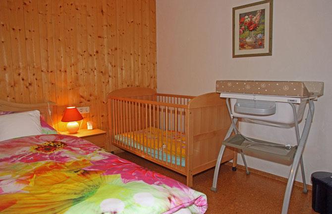 Babyurlaub im Landhaus Jörg - hier die Familienwohnung