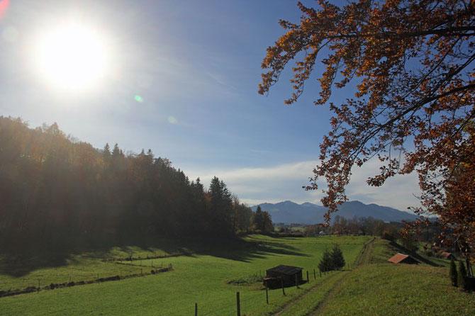 Herbsttag bei Rottach