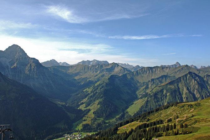 klare Tage im Herbst - Wanderfreude in der Allgäuer Bergwelt pur