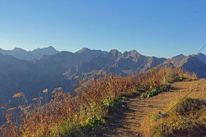 Traumtag in den Allgäuer Alpen im Herbst