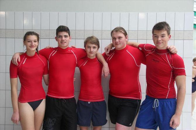 Werler Aquaball Cup Sieger Soester Haie Jugend 1 CT 16