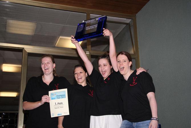 Deutscher Meister 2013 Soester Haie Damen 1
