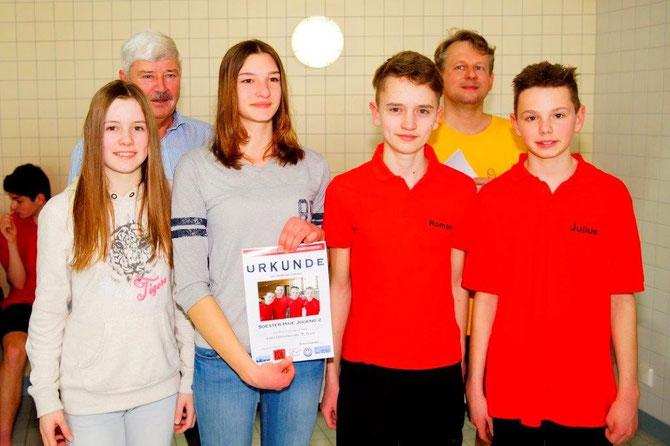 Jugend 2 4.ter Platz Schweinfurt 2015