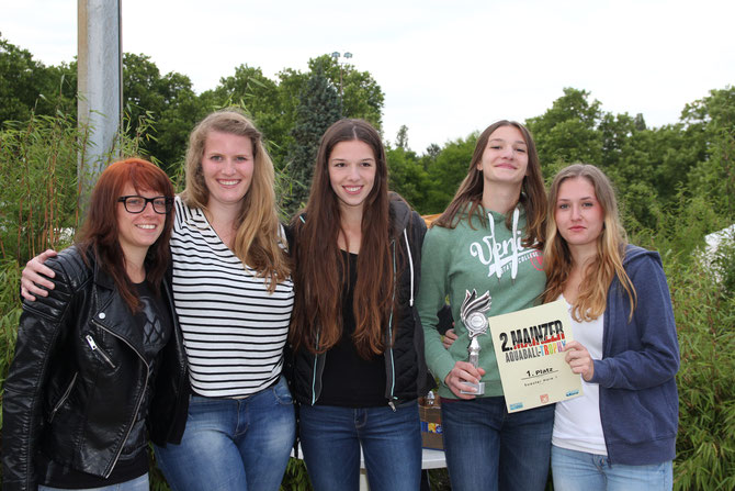 Sieger 2. Mainzer Aquaball Trophy 2015 Soester Haie Damen 1