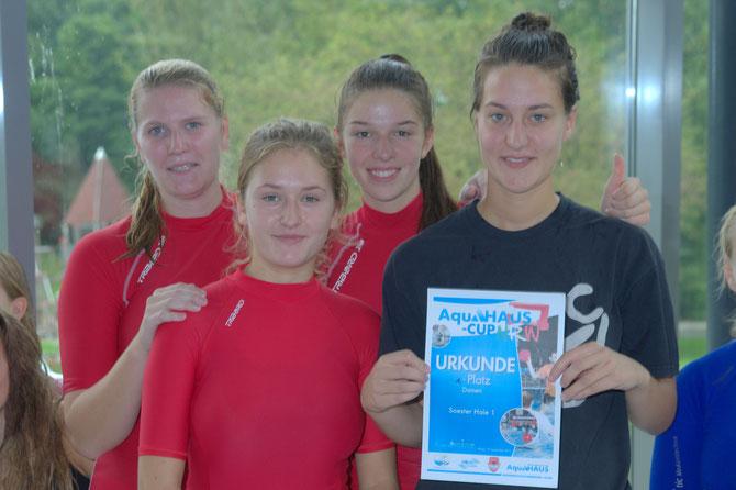 NRW-Cup Sieger 2015 Soester Haie Damen