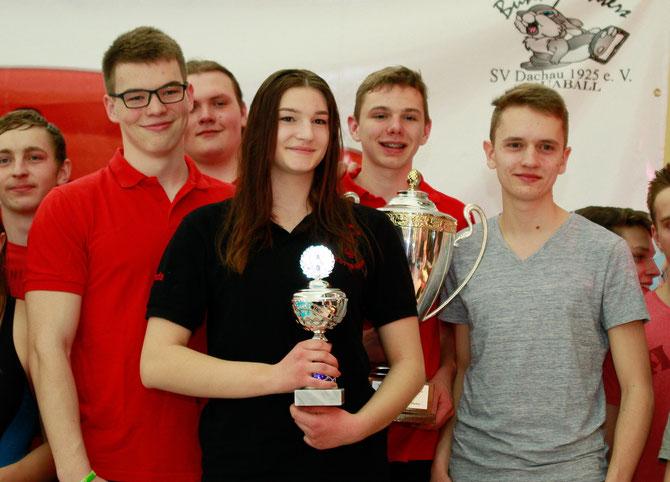 Internationaler Sparkassencup Dachau Sieger Soester Haie Jugend 1 CT17