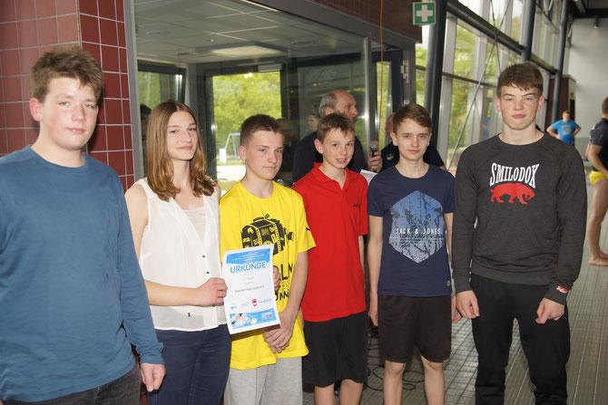 Jugend 2 4.ter Platz Ahaus2015