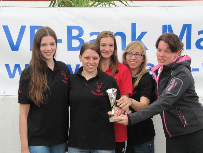 Sieger 1. Mainzer Aquaball Trophy Soester Haie Damen 1 CT 14