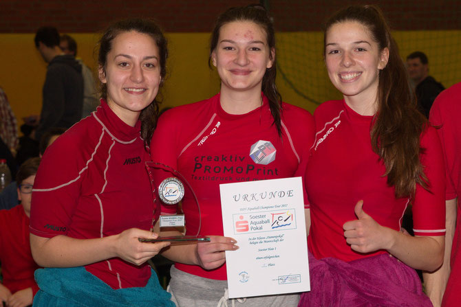 Turniersieger Sparkassen Cup Soest Soester Haie Damen 1