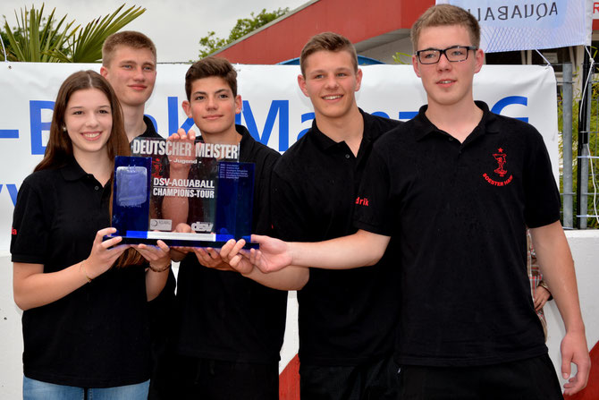 Deutscher Meister 2014 Soester Haie Jugend 1