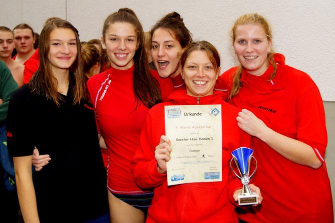 Werler Aquaball Cup Sieger Soester Haie Damen 1 CT 16