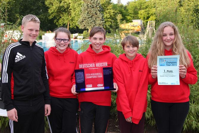 Deutscher Meister 2015 Soester Haie Youngster 1