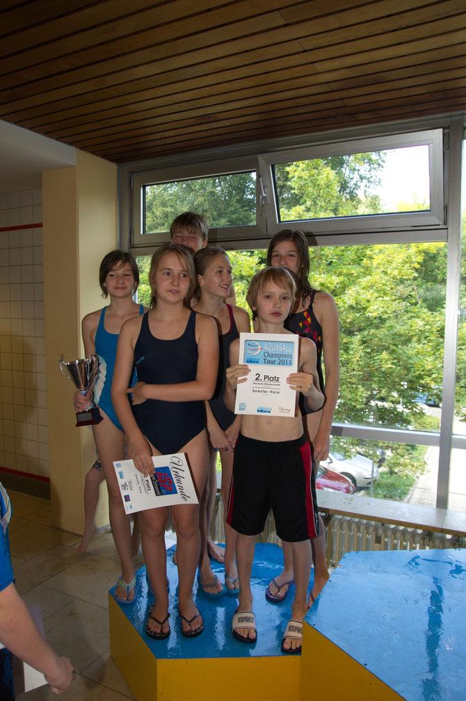 Siegerehrung Youngster2011 Dachau