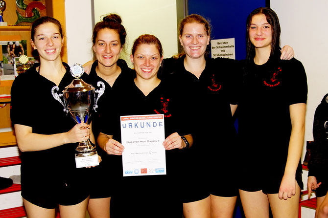 Turniersieger Soester Haie Damen 1 Haßfurt 2016-17
