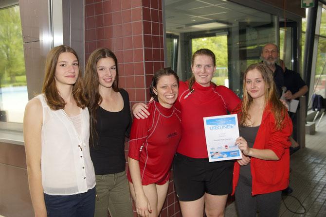 Damen 1 4.ter Platz Ahaus2015