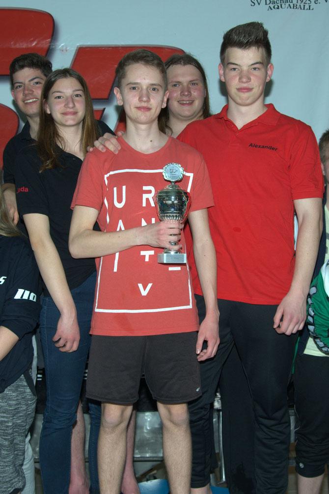 Internationaler Sparkassencup Dachau Sieger Soester Haie Jugend 1 CT16