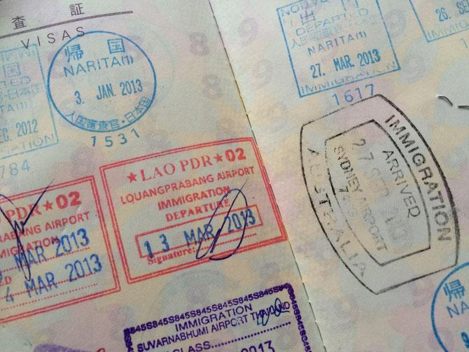 パスポート 子ども