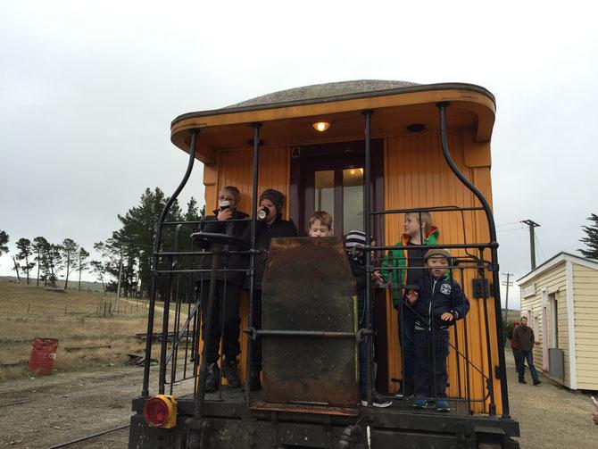 ニュージーランド ダニーデン タイエリ峡谷鉄道