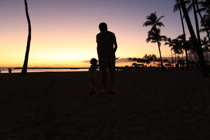 ハワイ 記念写真