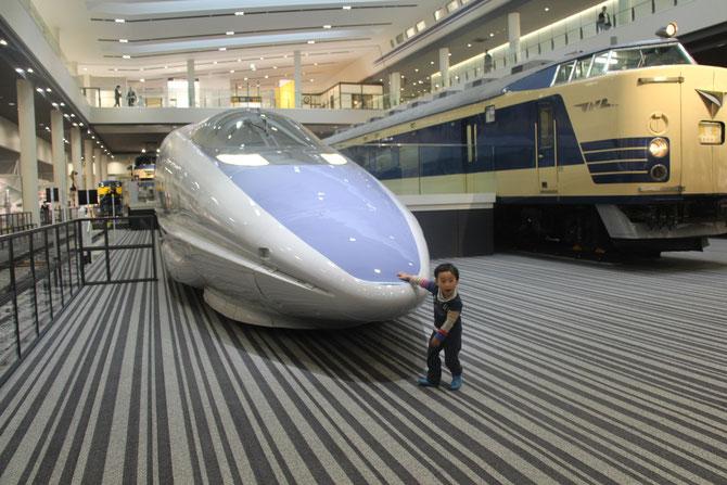 京都鉄道博物館 京都 子鉄 500系新幹線