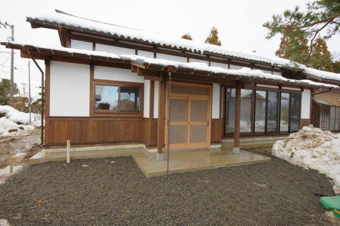 古くなった家の修復・再生(新潟市北区)修復後