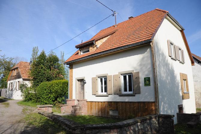 La dernière maison du hameau de Muckenbach