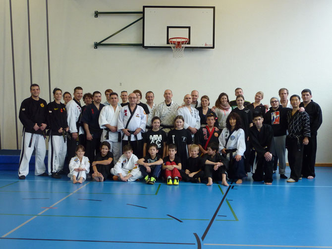 Hwal Moo Do Seminar in Dielsdorf Januar 2014