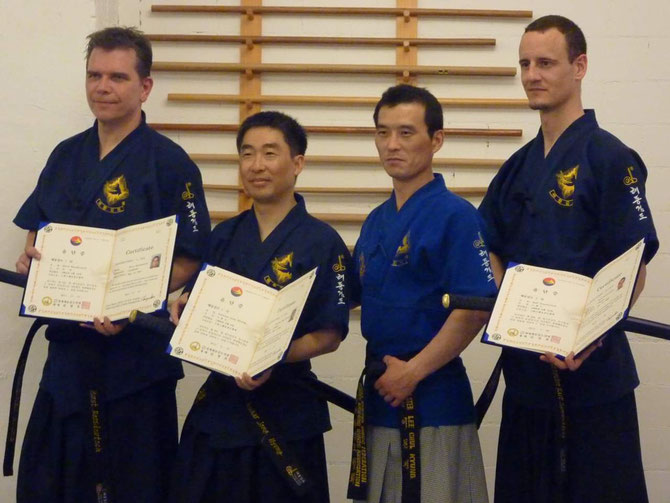 Haidong Gumdo mit Master Lee November 2011