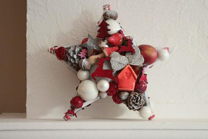 Stern, türschmuck, fensterschmuck, fenster-deko, weihnachts-deko, handgemacht, sterne kaufen auf messen, türkranz