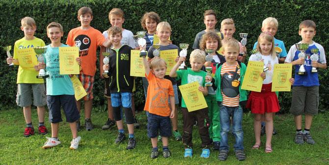 Sommerfest mit Vereinsmeisterschaft Mountainbike
