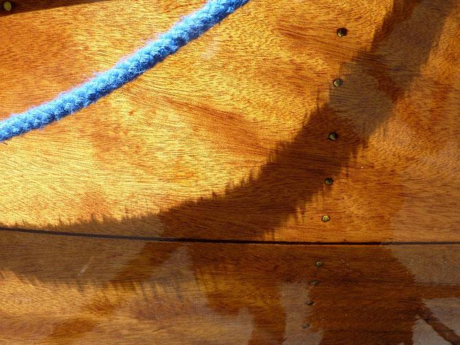 monocoque contre plaqué - Héritage Canoë Bois