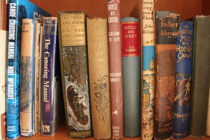 Bibliothèque du canoë bois - Héritage Canoë Bois