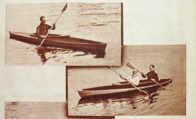 mono et biplace (in revue TCF 1935)
