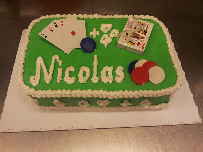 Poker Torte ab sFr. 49.--