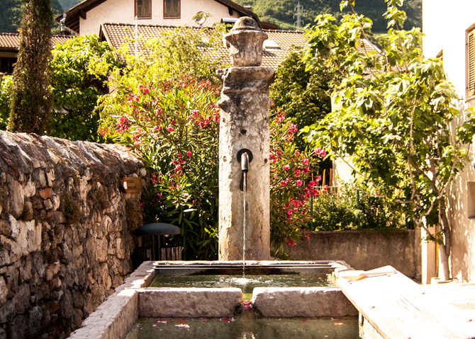 Brunnen auf dem Kastelaz-Hügel, Tramin