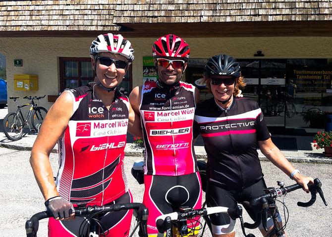 Casa Ciclista-Wiedersehen diesesmal in Tannheim
