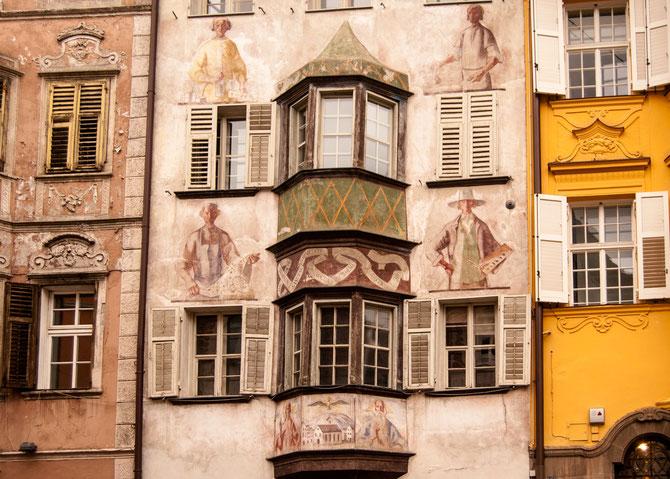 Historische Bauten rund um den Rathausplatz