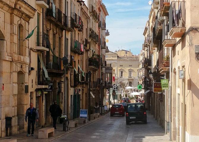 Blick auf den Placa de la Font.