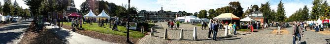 Während des Münsterland-Giro.......