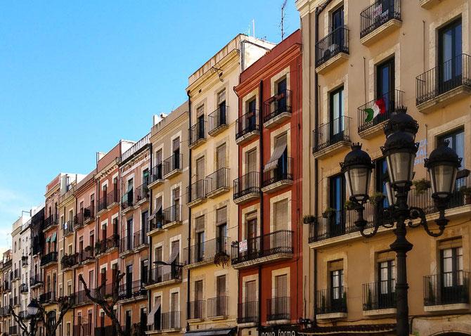 Am Placa de la Font, Tarragona.