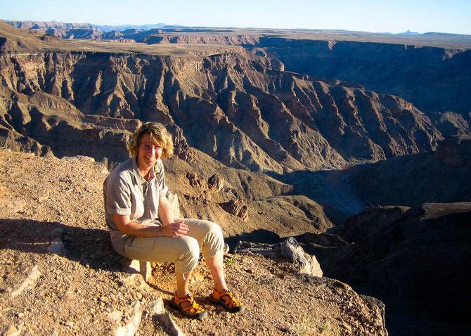 (Fast) am Ende meiner Reise durch Namibia