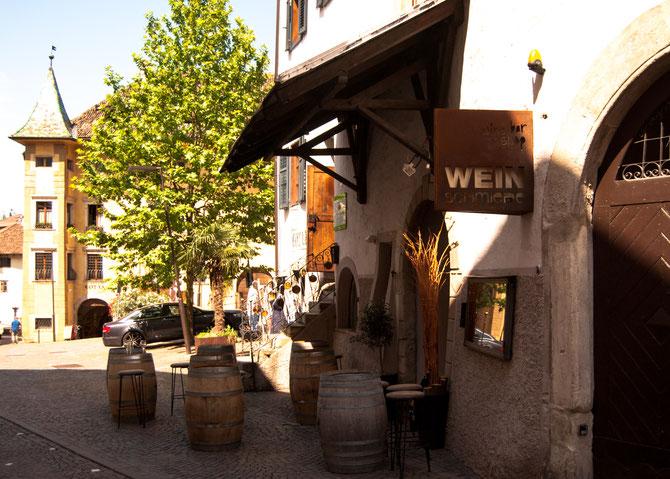 """""""Wein-Schmiede"""" :-) in der Andreas-Hofer-Straße"""