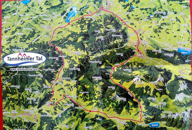 Tannheimer Tal Karte.Gefahr Wiederholungstat Radmarathon Im Tannheimer Tal