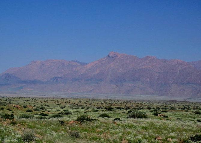 Der höchste Berg Namibias: Brandberg