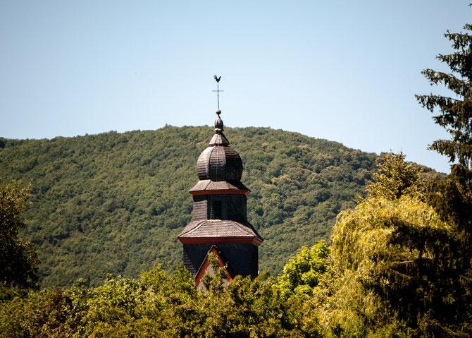 Turm der St. Peter Kirche.