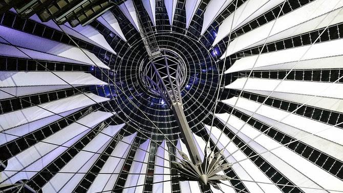 Sony Center. Potsdamer Platz