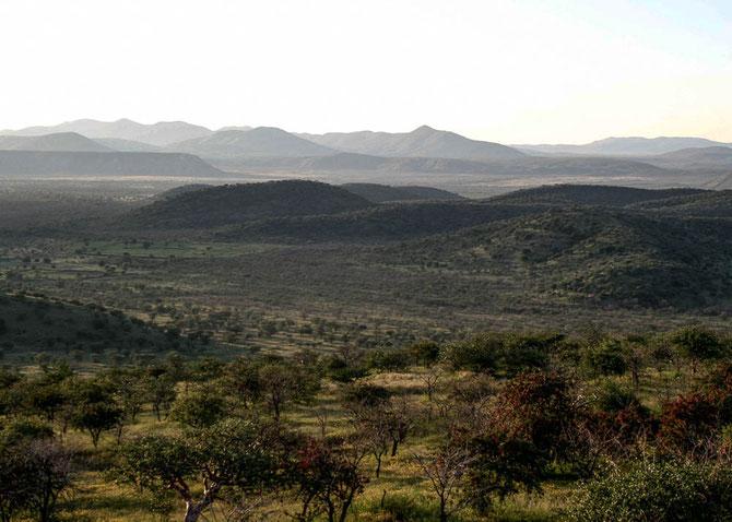 Land zur Linken des Kunene