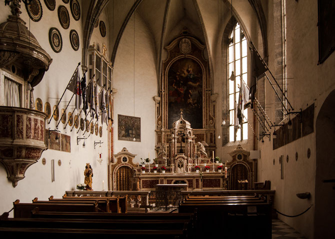 In der Deutschhauskirche St. Georg