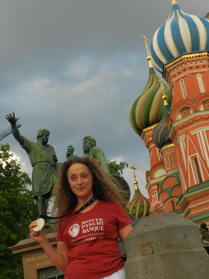 MOSCOU, 2018, CHAMPIONNAT D'EUROPE EWUF, MEDAILLE D'OR BAGUA ZHANG